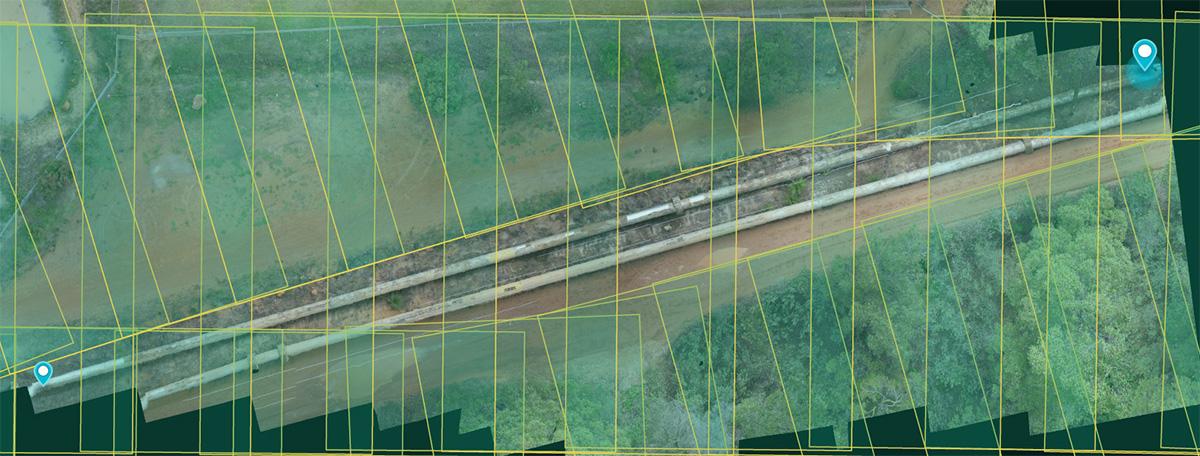 orthomosaic imagery drone uav arcgis